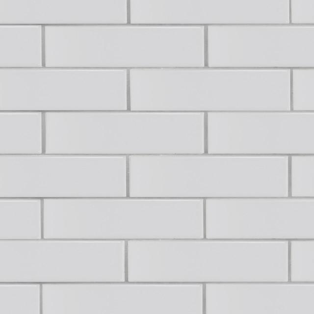 brick 2x8 white subway tile sample