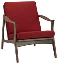 Modern Contemporary Armchair, Light Blue Fabric ...