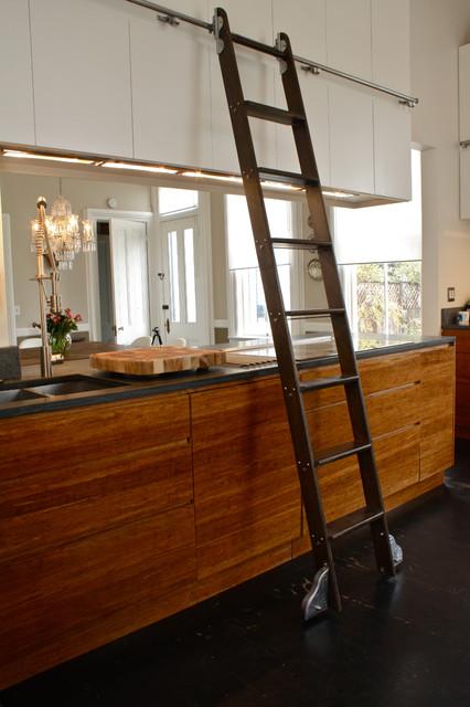 Kitchen Ladder  Eclectic  Kitchen  San Francisco  by