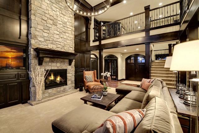 Dream Home Living Room  Transitional  Living Room