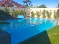 Essendon pool wall panel - Modern - Pool - melbourne - by ...