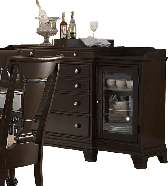 Homelegance Inglewood 72 Inch Server In Cherry