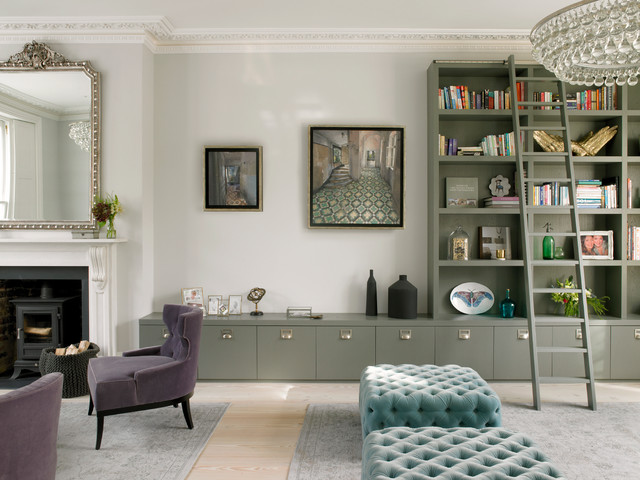 10 Times Built In Storage Has Transformed A Living Room Houzz Uk