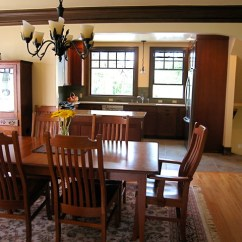 Rustic Pendant Lighting Kitchen Copper Aid Craftsman Bungalow 2010 - Traditional Dining ...