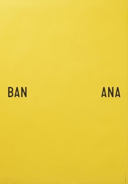 banana split print by