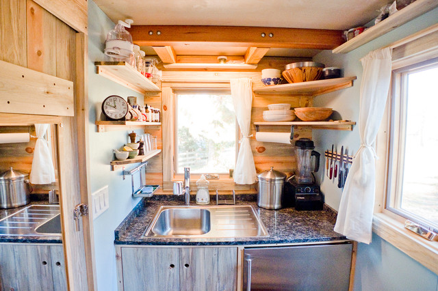 Tiny House Kitchen Contemporain Cuisine San Francisco Par