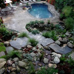 Fun Chairs For Kids Rooms Outdoor Bistro Chair Pads Swimming Pools - Rustic Pool Los Angeles By Stout Design-build