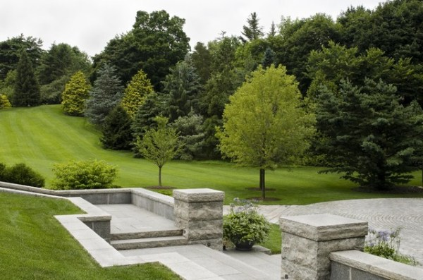classic home and landscape - traditional