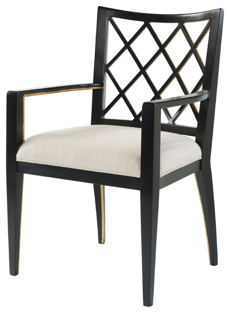 safavieh sinclair ring side chair baxton studio theodore alexander charcoal trellis chair, set of 2 - dining chairs | houzz