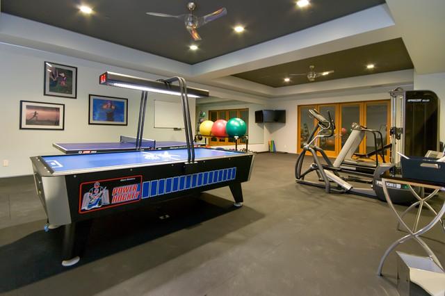 Cheap Home Gym Flooring Ideas