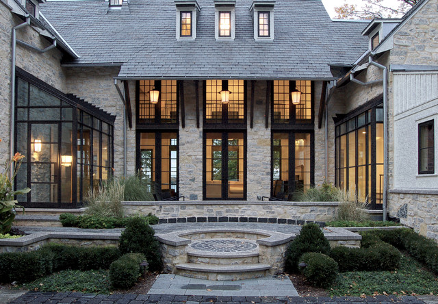 Lake Geneva Basswood traditional-exterior