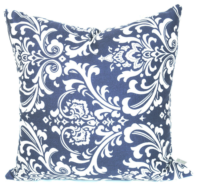 Outdoor French Quarter Large Pillow  Traditional