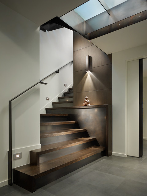 Waterfront Residence contemporary-staircase