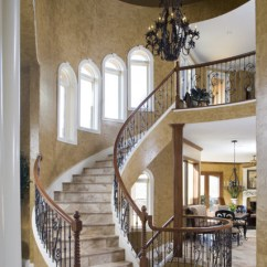 Living Room Furniture Indianapolis Large Ideas With Fireplace Tuscan Villa - Mediterranean Staircase ...