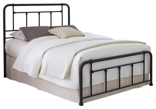 Baldwin Complete Bed With Metal Posts and Detailed Castings, Full