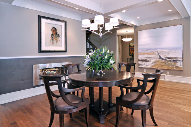 Dining Room Transitional Dining Room Calgary By Bruce