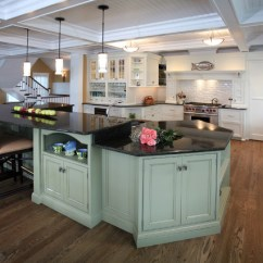 Coffee Themed Kitchen Rugs Corner Curio Cabinet Beach House Kitchens - Style ...