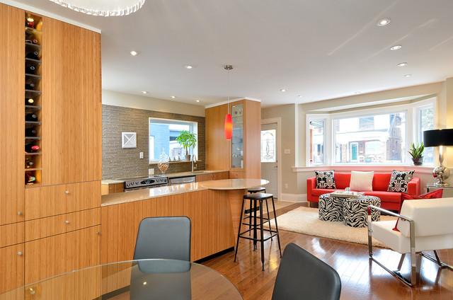 Small bungalow renovation  Contemporary  Living Room