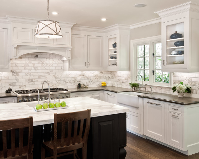 wood mode kitchen cabinets bins traditional mix of stain painted save