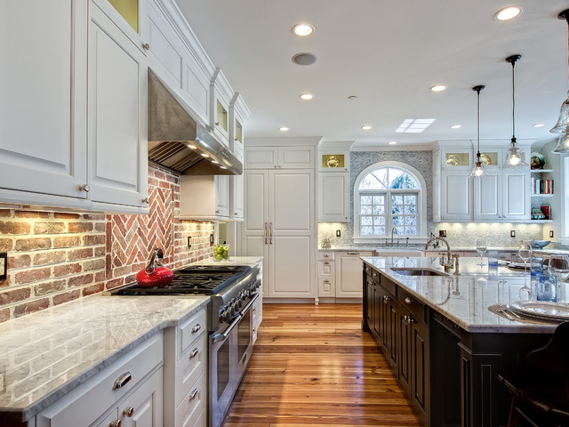 Southern Charm Contemporary Kitchen Expansive