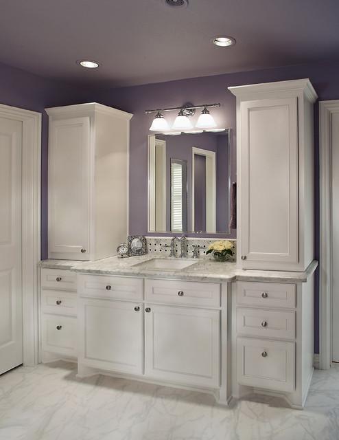 Plano TX bathroom remodel  Traditional  Bathroom  Dallas  by USI Design  Remodeling