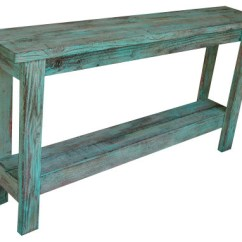 Aqua Sofa Sleeper Mattresses Distressed Table Farmhouse Console Tables By Doug And Cristy Designs
