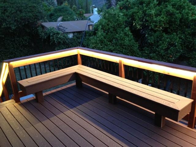 Composite Deck Composite Bench