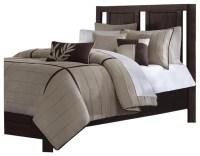 JLA Madison Park Dune Polyester Comforter Set, Beige ...