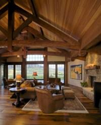 Lake Cabin - Rustic - Living Room - Denver - by Lynne ...
