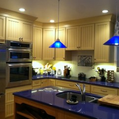 Quartz Kitchen Countertops Used Cabinets Kansas City Shining Blue Installation In Towaco Nj Are Considered As Best For White Because They Provide A Sparkly Look To These