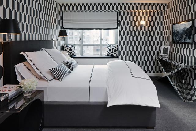 Upper East Side Residence contemporary-bedroom