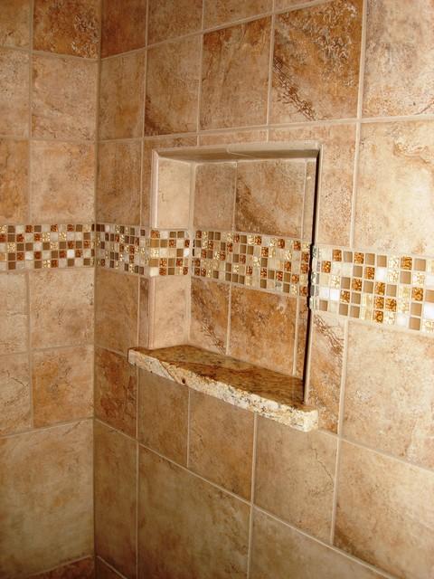 Tile Shower  Modern  Bathroom  Cleveland  by