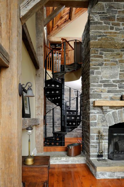 Farmhouse Addition Farmhouse Staircase Ottawa By