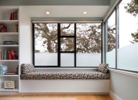Master bedroom window seat - Modern - Bedroom - San ...