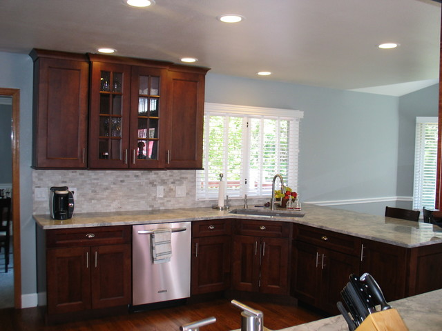 kitchen swivel chairs commercial for rent nyc medallion cabinetry - traditional denver by ...