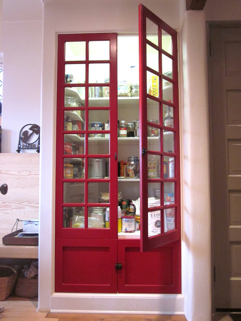 Pantry Doors  Modern  Kitchen  Louisville  by Rock