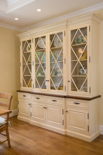 Custom Hutch By Midland Traditional Dining Room San