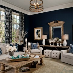 Sealy Living Room Furniture Decorating Ideas Gray Walls Remodelaholic | Color Spotlight: Benjamin Moore Hale Navy
