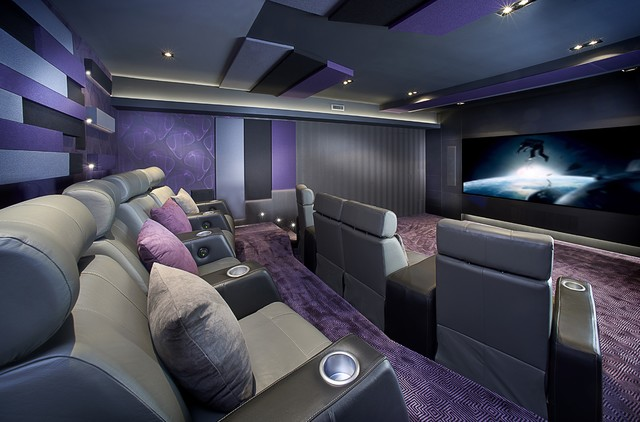 Montreal Home Theater Contemporary Home Theater Montreal