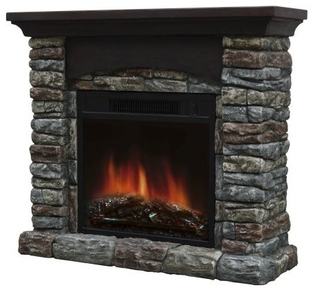 farmhouse chairs for sale wheelchair near me breckin electric fireplace - rustic indoor fireplaces by shop chimney
