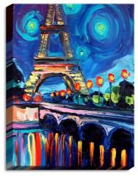 Shop Houzz | DiaNoche Designs Illuminated Wall Art - Seine ...