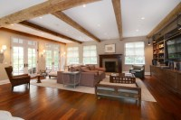 English Country Manor House - Traditional - Living Room ...