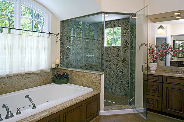 Rejuvinated Cape Cod in McLean  Traditional  Bathroom  dc metro  by Bowers Design Build
