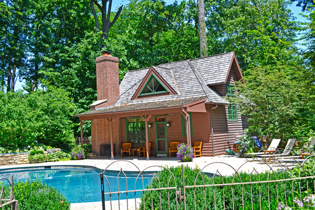 Interesting Rustic Pool House Ideas R For Design Inspiration