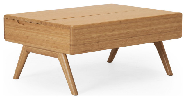 rhody lift top coffee table caramelized