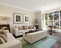 Formal Living Room Bay Window Home Design Ideas, Pictures ...