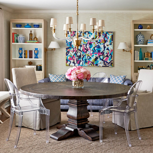 traci zeller designs: double duty dining room