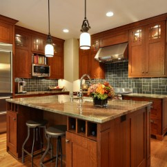 Wood Mode Kitchen Cabinets Pottery Barn Islands Craftsman Inspired - Dallas ...
