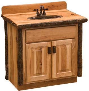 Hickory Vanity 30 Without Top Sink Center Espresso  Bathroom Vanities And Sink Consoles