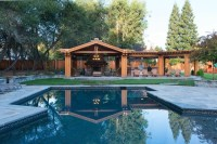 Saratoga Extreme Backyard Make over - Craftsman - Pool ...